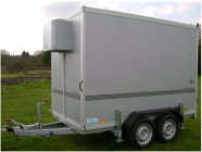double axles mobile trailers for sale
