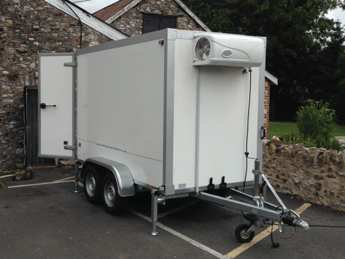Double Axle Mobile Chiller for Sale